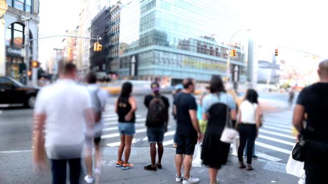 Timelapse in New York City video