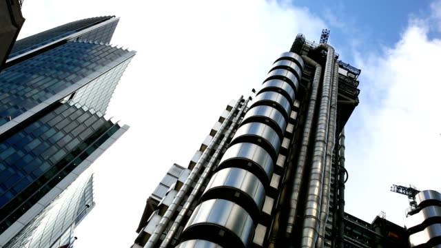 HD Timelapse Lloyd's building in City of London video