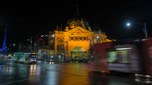 timelapse melbourne - melbourne stock videos & royalty-free footage