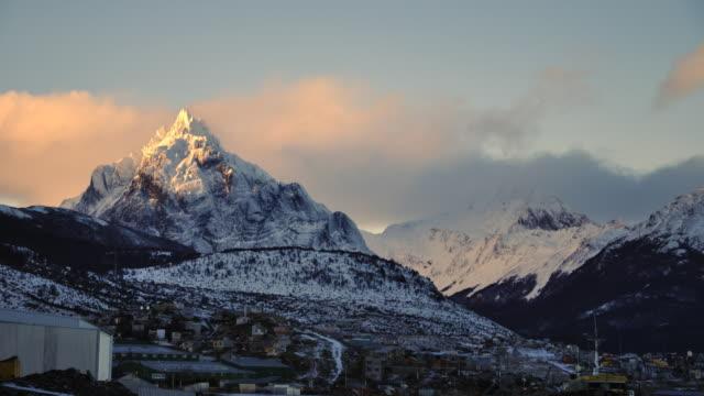 timelapse monte olivia - Ushuaia Argentina video