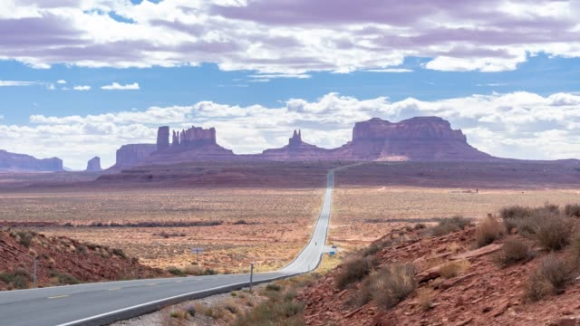 Time-lapse Monument Valley Navajo Tribal Park in Utah USA video