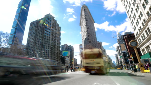 HD time-lapse: New York City Broadway Fifth avenue video