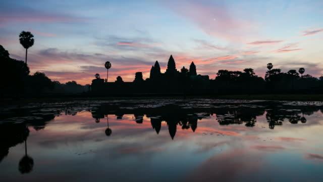 Timelapse of Angkor Wat at Sunrise, Cambodia video