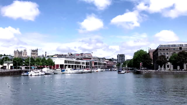 Timelapse of Bristol Harbour video