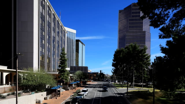 Timelapse of downtown Tucson, Arizona