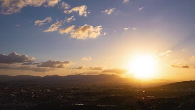 福岡市延時 - 城鎮 個影片檔及 b 捲影像