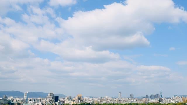 timelapse of Fukuoka city timelapse of Fukuoka city jp201806 stock videos & royalty-free footage