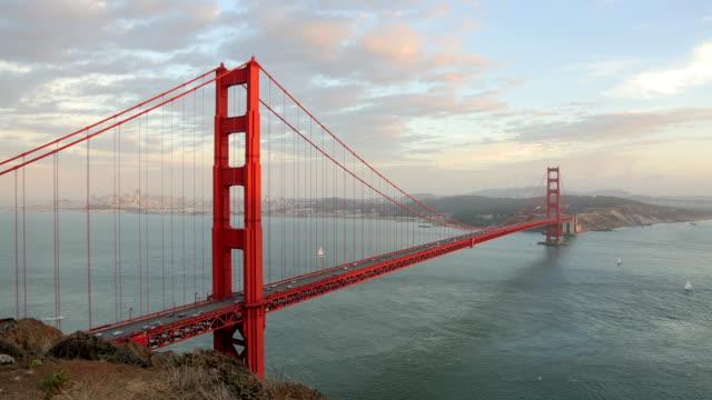 Timelapse of Golden Gate Bridge