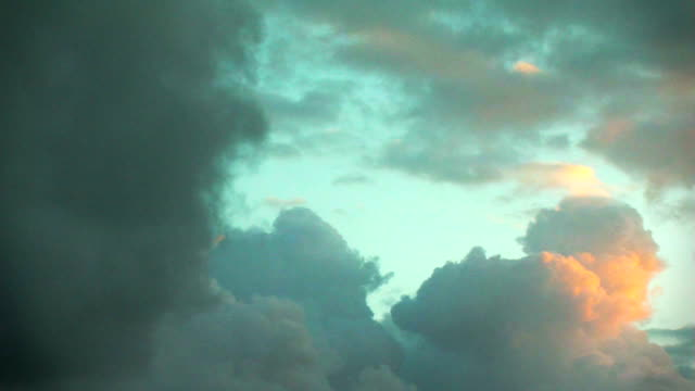 Timelapse of heavenly clouds video