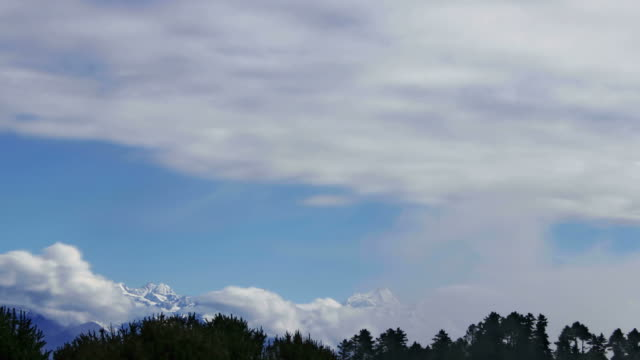 Timelapse of Himalayan mountains. video
