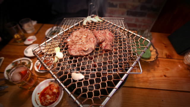 Timelapse of Korean BBQ video