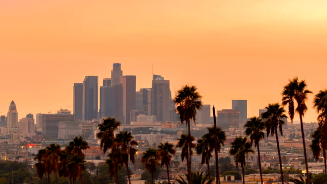 time-lapse of los angeles, ca - los angeles стоковые видео и кадры b-roll