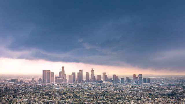 Timelapse Of Los Angeles