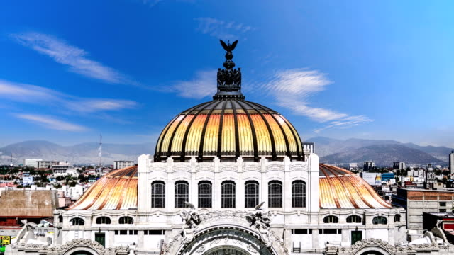 timelapse of mexico city - город мехико стоковые видео и кадры b-roll