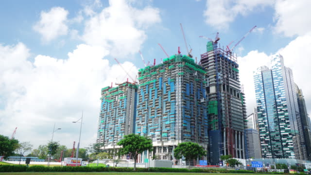 Time-lapse of Modern building of Central Business District video