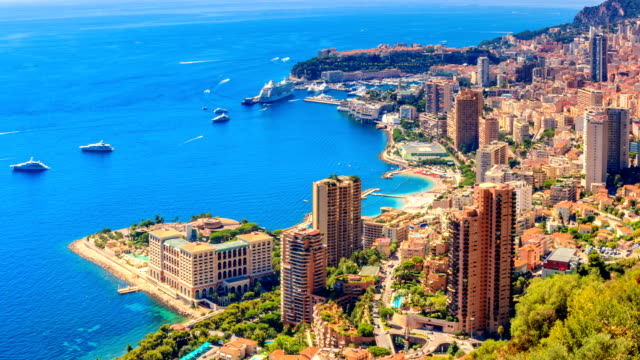 Timelapse of Monte Carlo in Summer Monte Carlo monte carlo stock videos & royalty-free footage