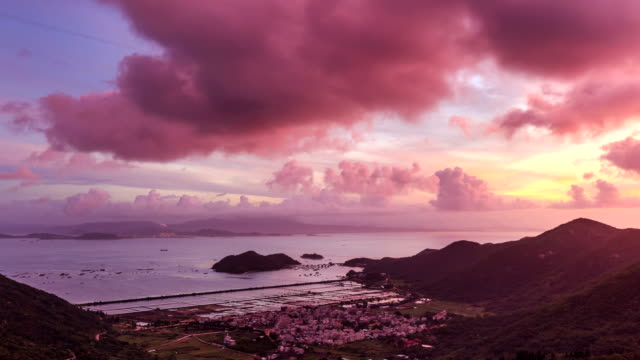 Timelapse Of Nanao Island video