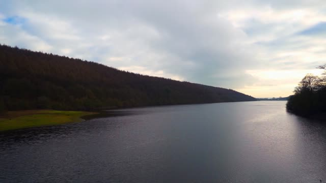 Timelapse of Reservoir Timelapse of a reservoir and clouds b roll stock videos & royalty-free footage
