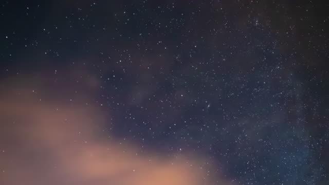 Ein Zeitraffer des Sternenhimmels in Shizuoka in der Nacht – Video