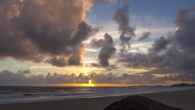 Timelapse van zonsopgang in Australië video