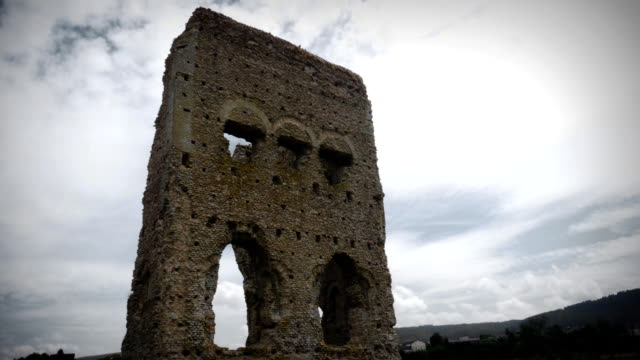 Timelapse of the ancient Roman Temple Janus video