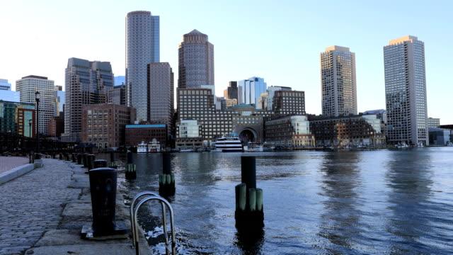 Timelapse of the Boston city center video