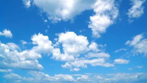 timelapse bezchmurnego nieba - piękno filmów i materiałów b-roll