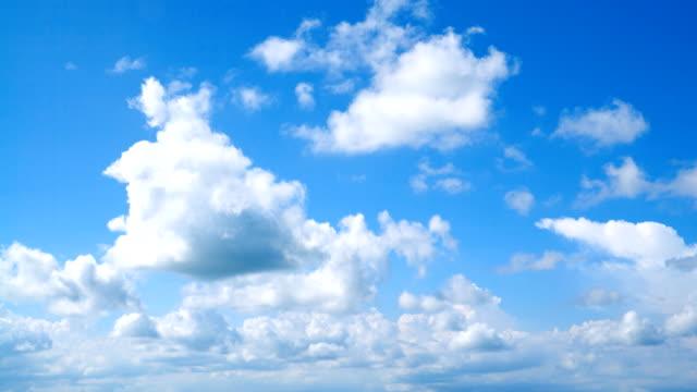 vídeos de stock, filmes e b-roll de intervalo de tempo do céu claro - primavera estação do ano