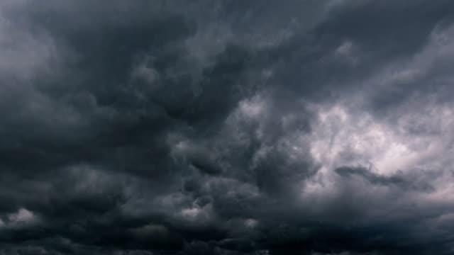 vidéos et rushes de timelapse du nuage - ciel orageux