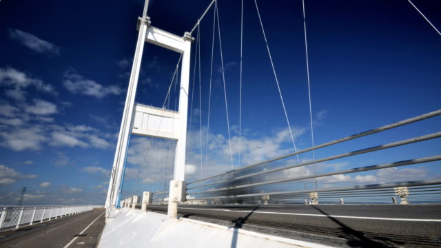 Timelapse of the Severn bridge linking England & Wales video