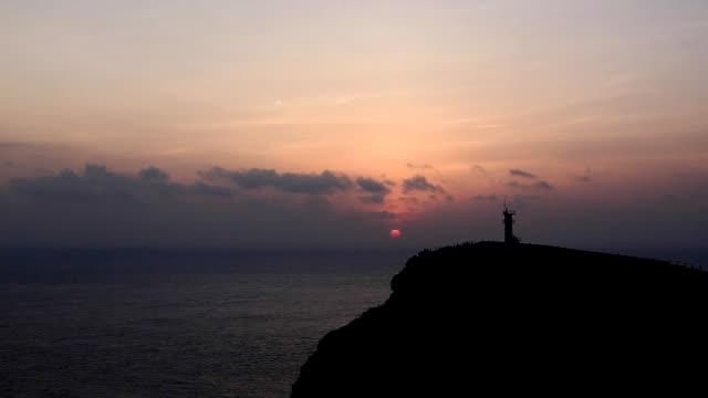 timelapse of the sunrise scenery video