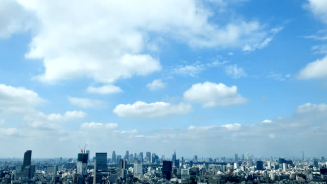 timelapse van de stad Tokio​ video