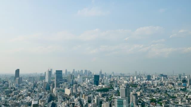 東京都心のタイムラプス - 青空点の映像素材/bロール