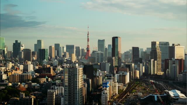 東京のタイムラプス - 夜明け点の映像素材/bロール