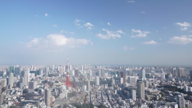 Timelapse van Tokyo Tower video