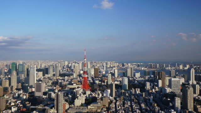Timelapse of Tokyo Tower Timelapse of Tokyo Tower tokyo tower stock videos & royalty-free footage