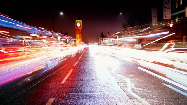 Timelapse of Westminster, London, England, UK video