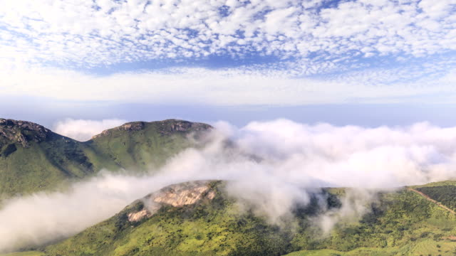 Timelapse Of Yushan Island video