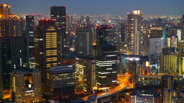 Timelapse Osaka City Video