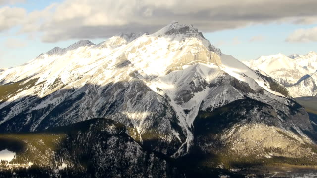 Time-lapse over Sulphur Mountain – BANFF, CANADA video