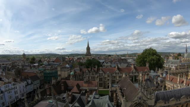 timelapse Oxford City in UK - vídeo