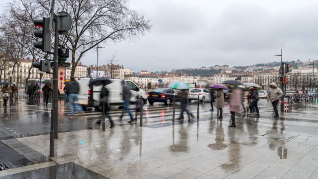 4K Time-lapse: Pedestrian crowded at Lyon Place Bellecour France 4K Time-lapse: Pedestrian crowded at Lyon Place Bellecour France, Apple ProRes 422 (HQ) 3840x2160 Format knight person stock videos & royalty-free footage