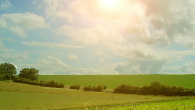 Timelapse scenery in HD video