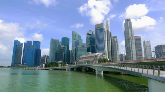 4K Timelapse singapore city