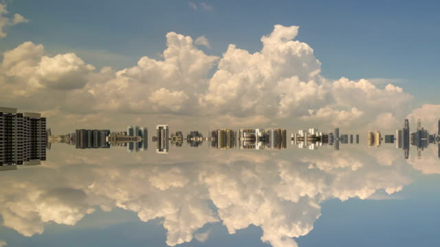 Time-lapse Singapore Skyline video