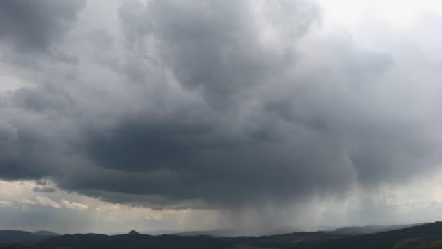 Timelapse - stormy sky