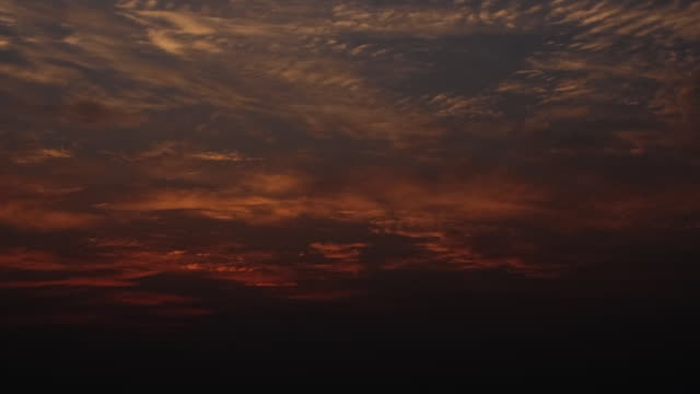Timelapse - Sunrise with Thin Clouds video
