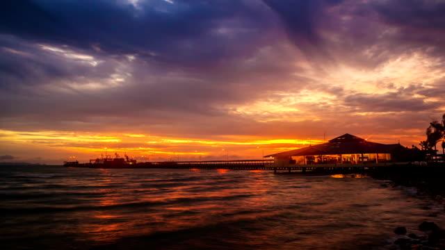 Timelapse sunset / sunrise video
