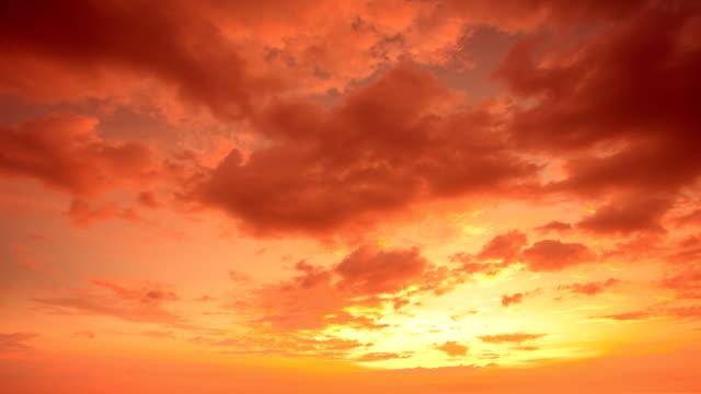 Timelapse sunset