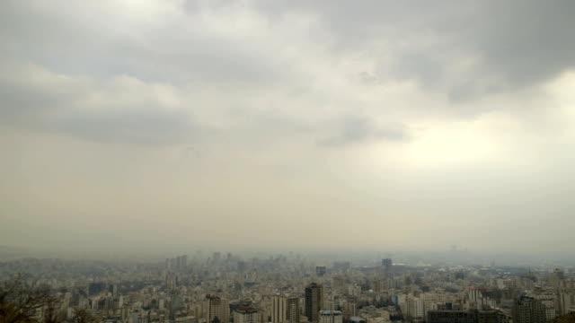 延時德黑蘭城市建築 - 德黑蘭 個影片檔及 b 捲影像